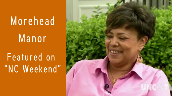 AAAii member inn Morehead Manor is featured on NC Weekend with Innkeeper and AAAii President Monica Edwards.